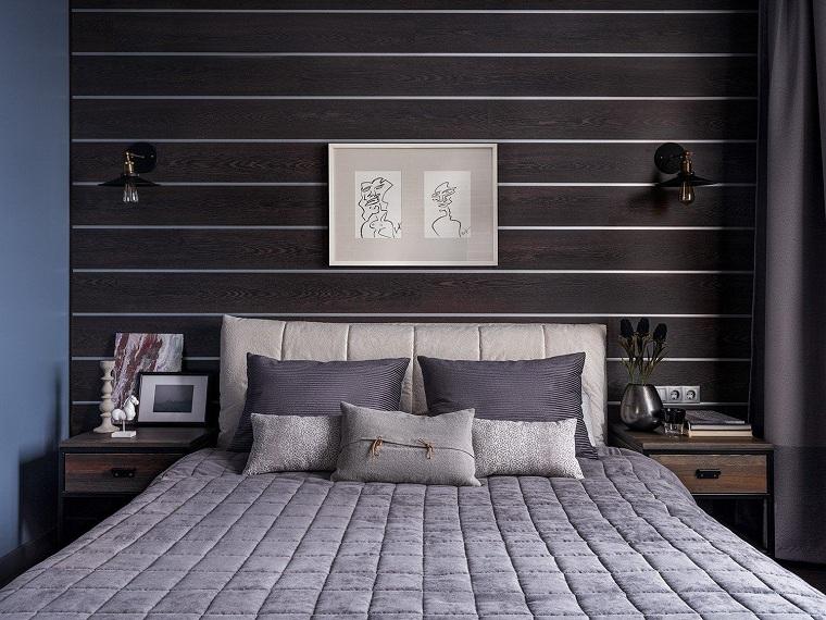 küçük yatak odası duvar fikirleri nasıl dekore edilir