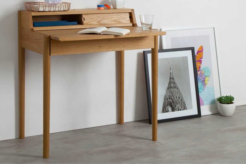 Ahşap tasarım masası