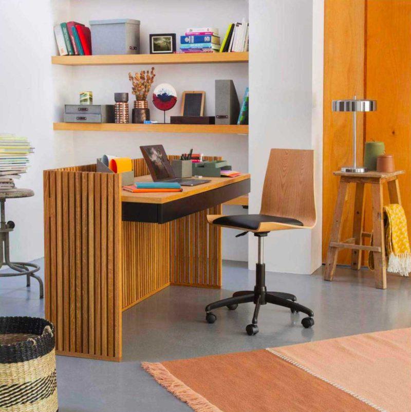 Masif ahşaptan özgün tasarım masası