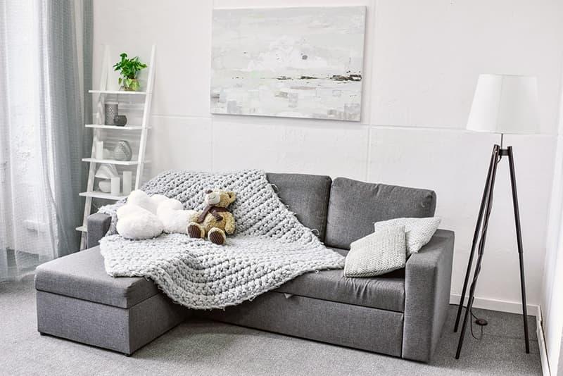 Oda için tekstil dekor elemanları