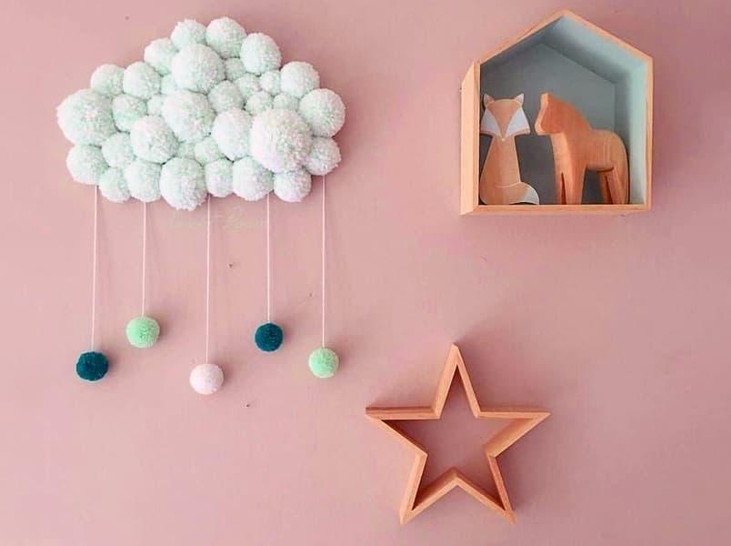 Odanın dekorunda el sanatları