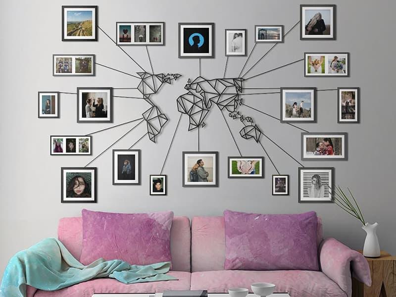 Kişisel eşyalarla oda dekorasyonu