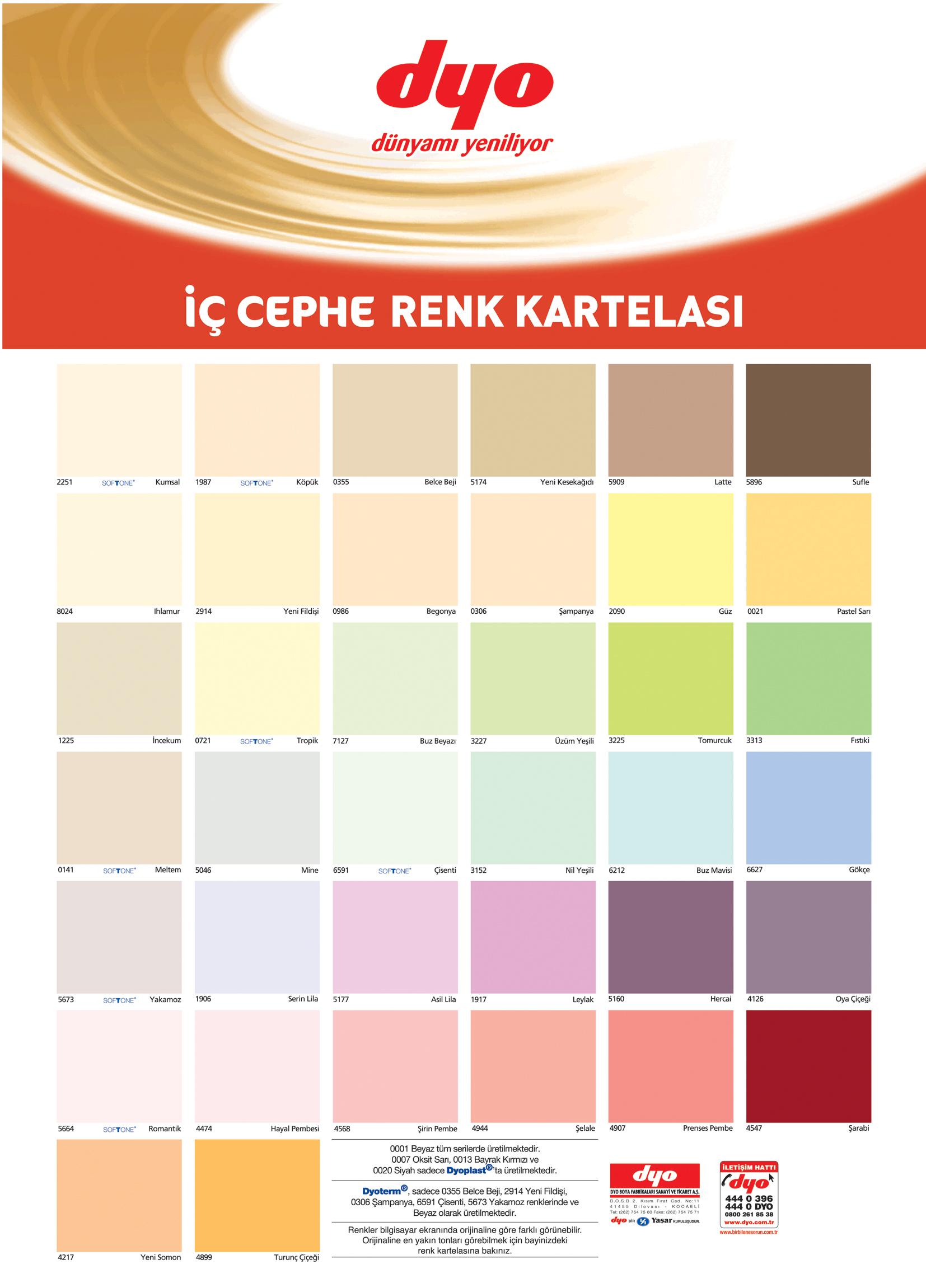 DYO Renk Kataloğu (2)