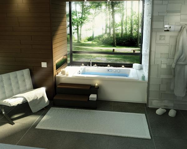 Şık Banyo Dekorasyonu (21)