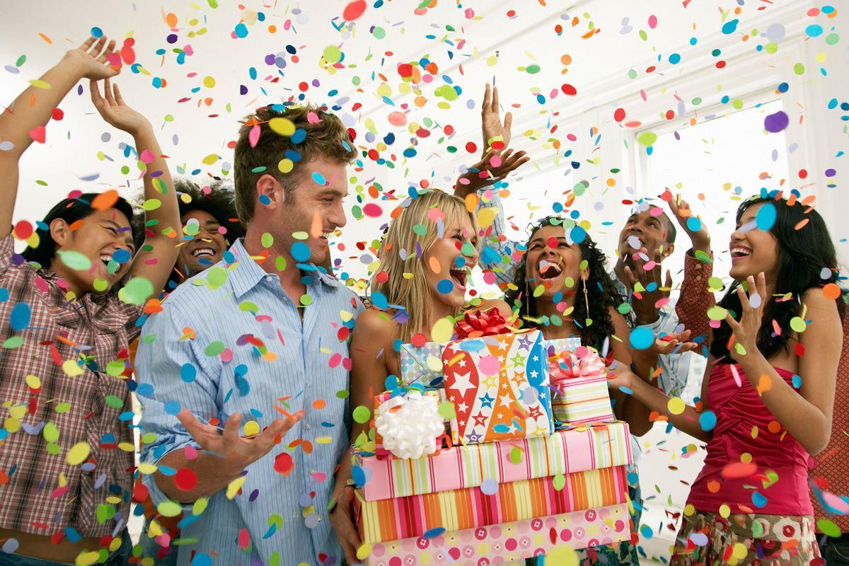 adornar cumpleaños de adultos - organización