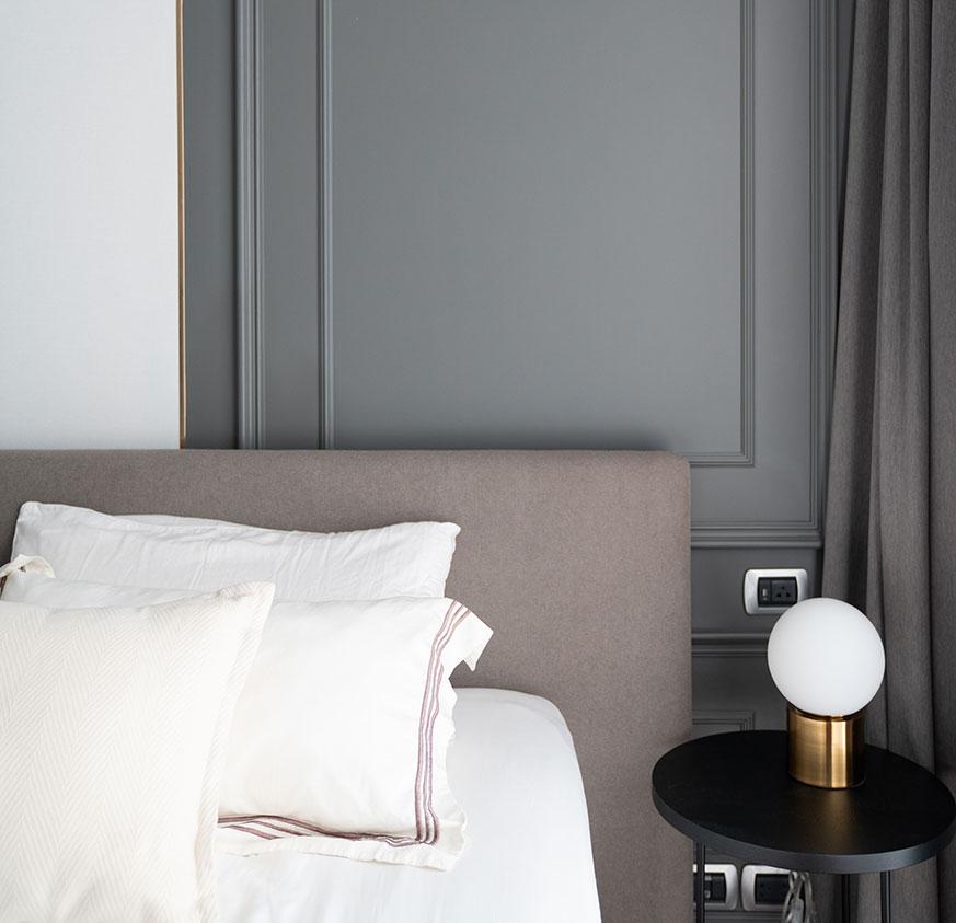 Yatak başlıkları ve yatak odası dekorasyonu fikirleri. Pervazlar.