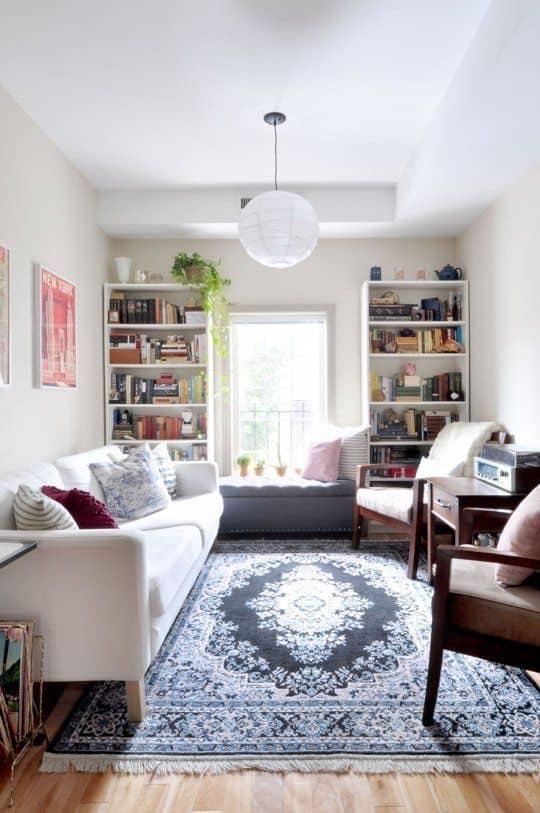 10-Oturma odanızın dikey alanından yararlanın