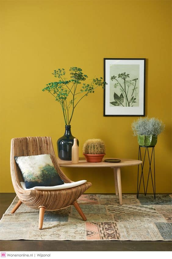 Neşeli alanlar için sarı