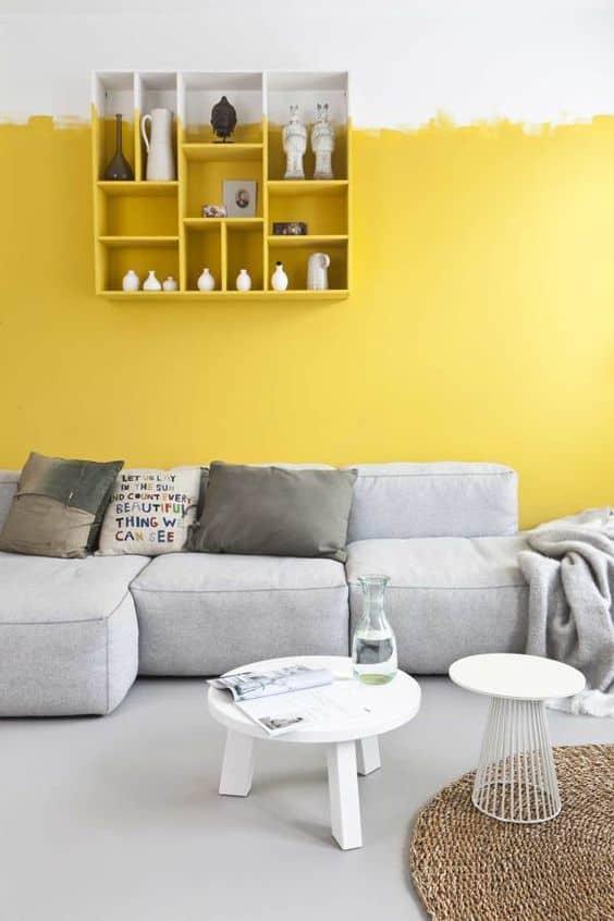 Neşeli bir ikili: sarı ve beyaz