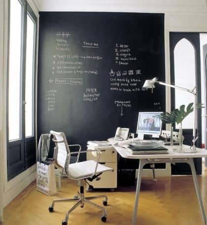 4-Kara tahta-duvarları kullan