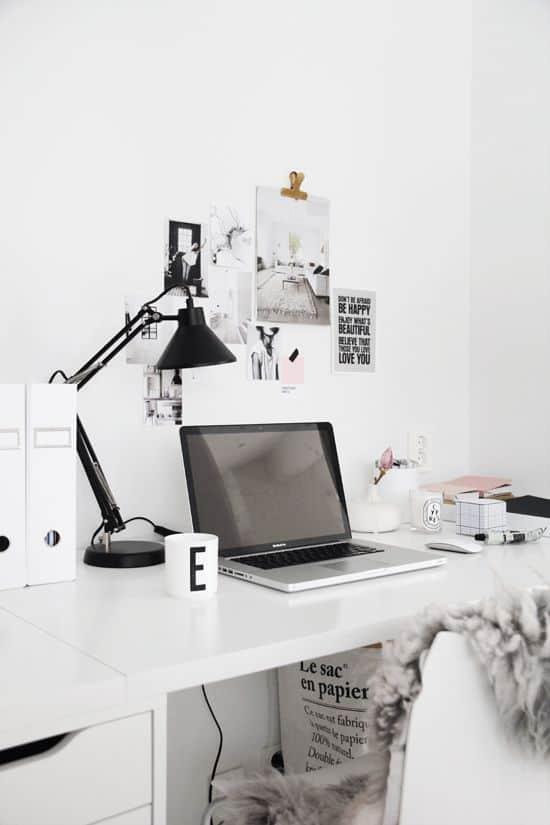 20-Masanızın üstündeki minimalizm