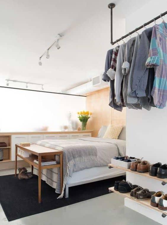 Odanızda 360 ° giyinme odası oluşturun
