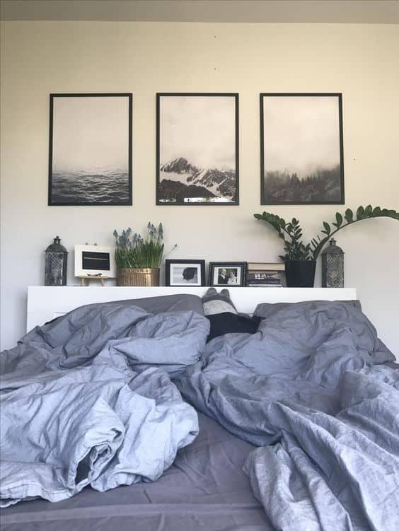Üç parçalı bir tablo arayın