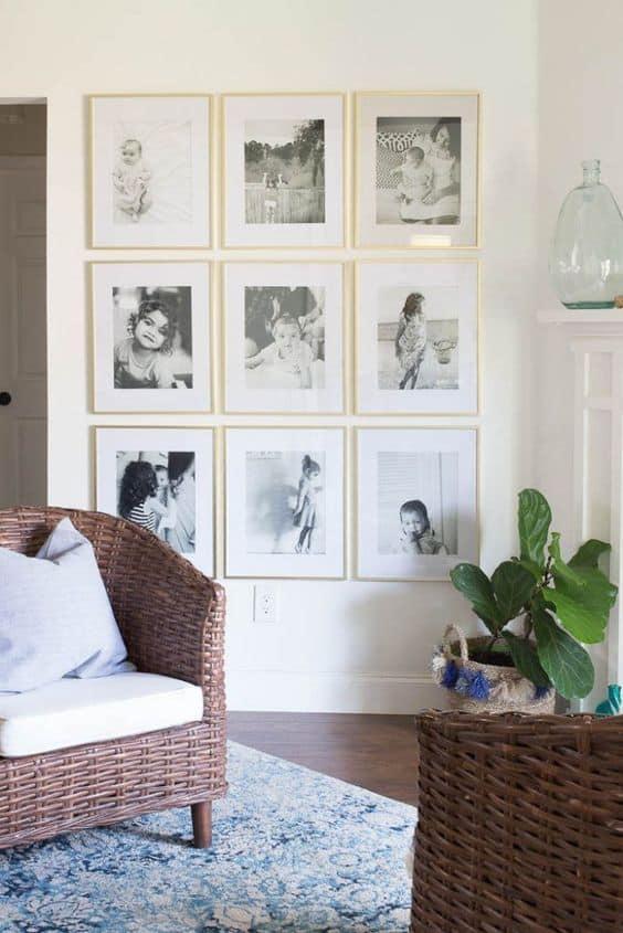 Birleştirmek için siyah beyaz fotoğrafları seçin