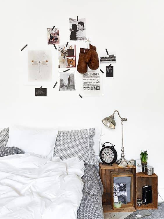 Fotoğraflarınızı birbirine bantlayarak minimalist bir görünüm elde edin