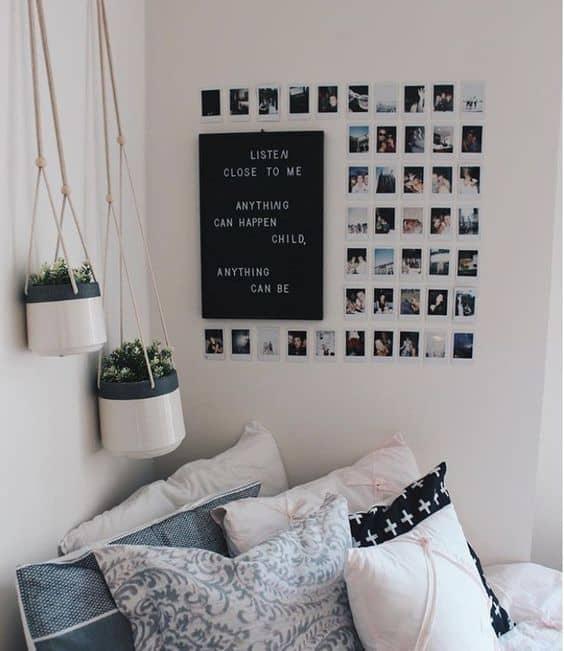 Duvarda belirli bir alan ayırın