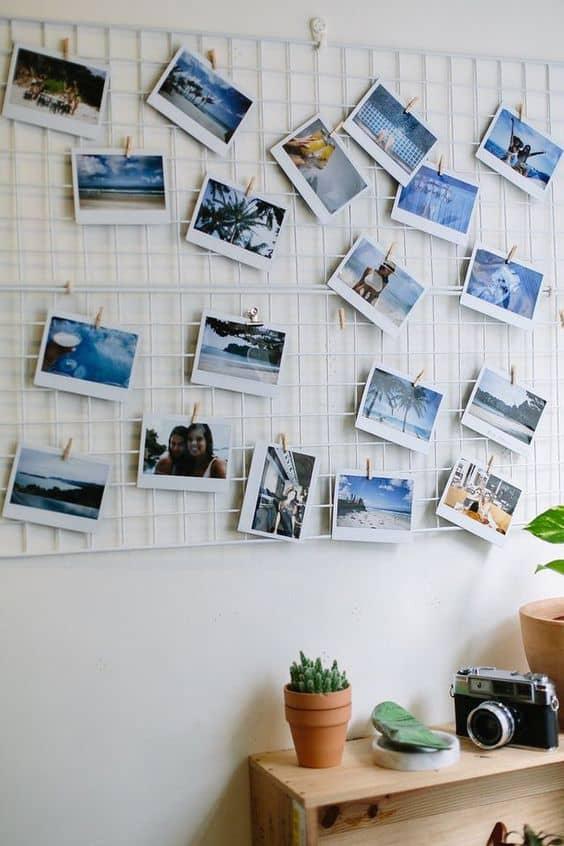 Fotoğraflarınızı düzenli tutmak için bir raf takın