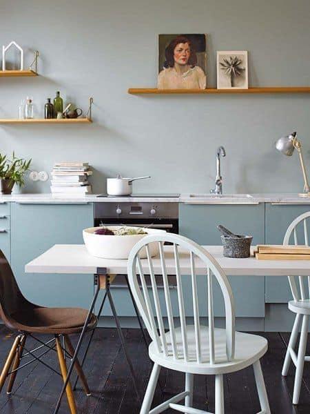 4-Duvarı mobilya ile birleştirin