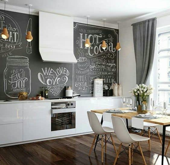 7-Özel boyalarla duvarınıza işlevsellik ekleyin