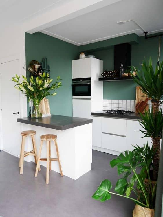 14-Doğayla-ilgili-yeşil-içinde-mutfak