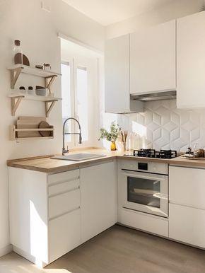 16-Küçük mutfaklar için ideal