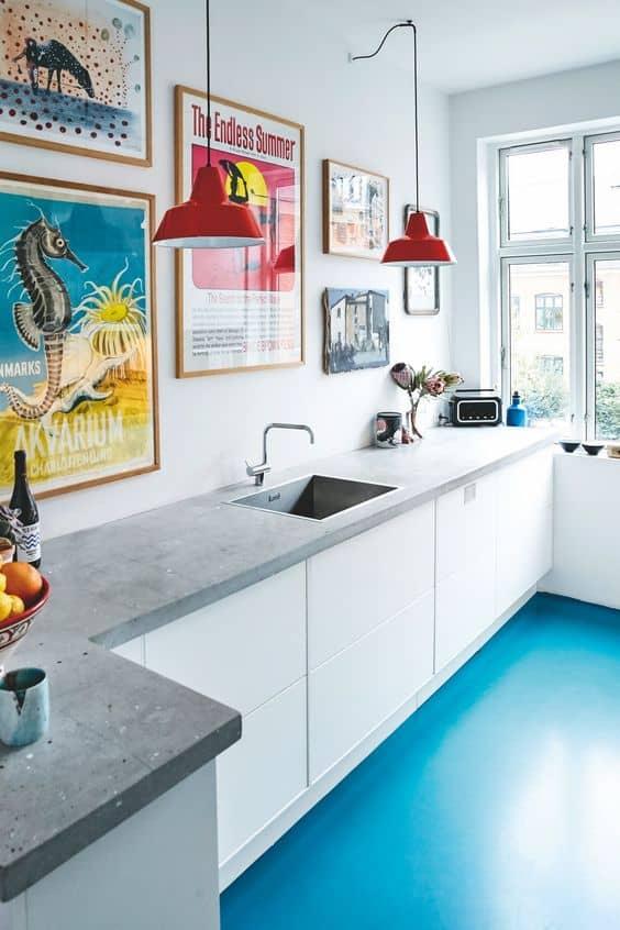 Renkli bir galeri entegre edin