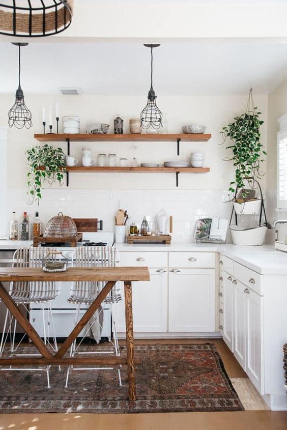 Mutfağa bir halı ekleyin