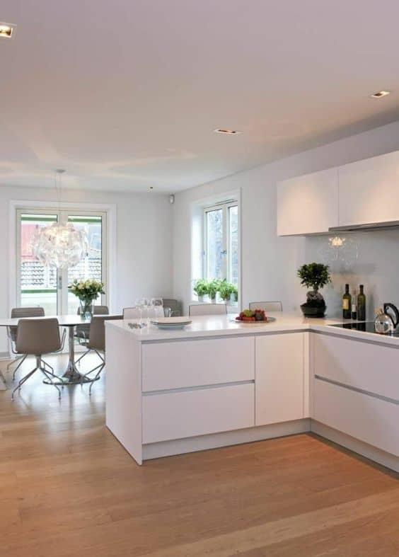 L'de bir mutfak inşa et