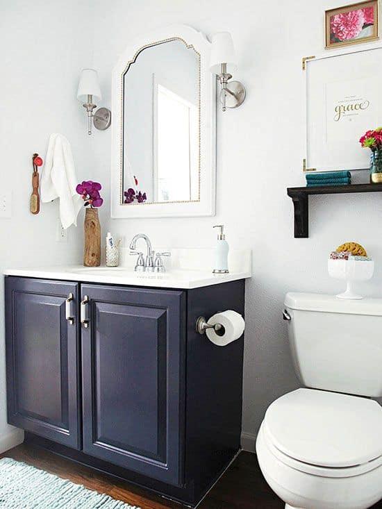 4-Banyo-mobilyalarını boyayla-dönüştürün