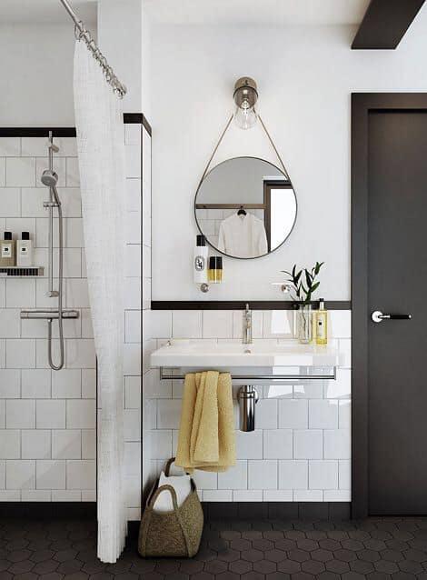 7-Daha modern bir lavabo tercih edin