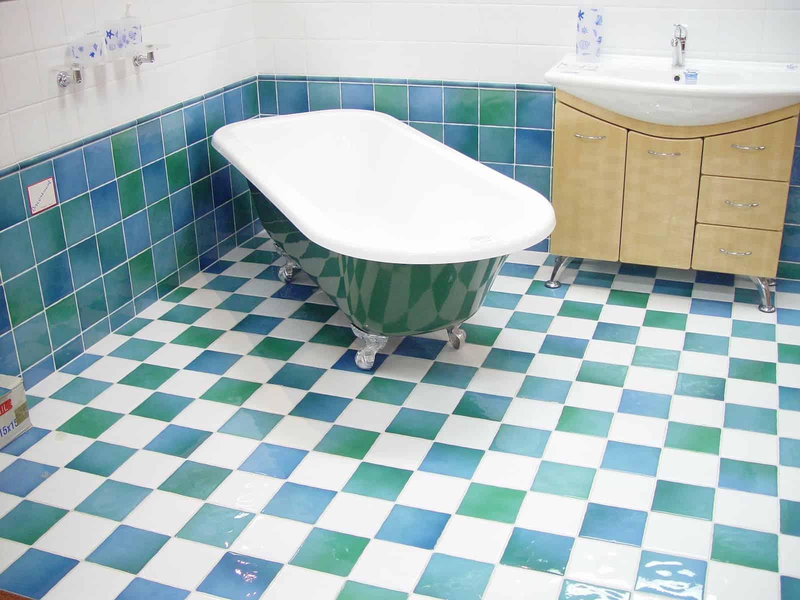 Banyoyu iki yatay yarıya bölün