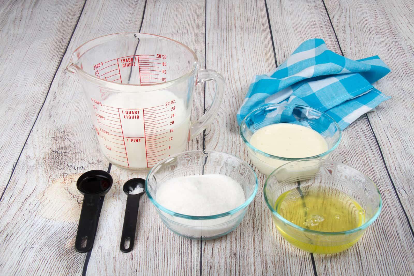 ev yapımı dondurma tarifi - Malzemeler