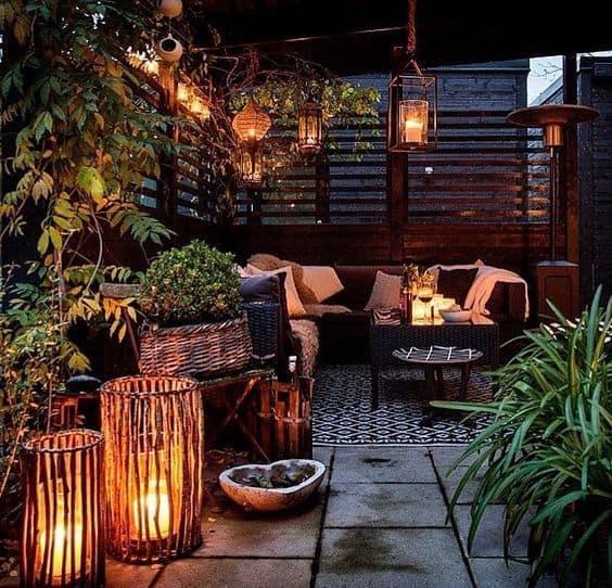 Zen dekorasyonu, küçük alanlar için ideal