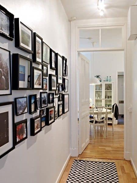 11-Duvarlarda-bir-Sanat-Galerisiyle-Süsleyin