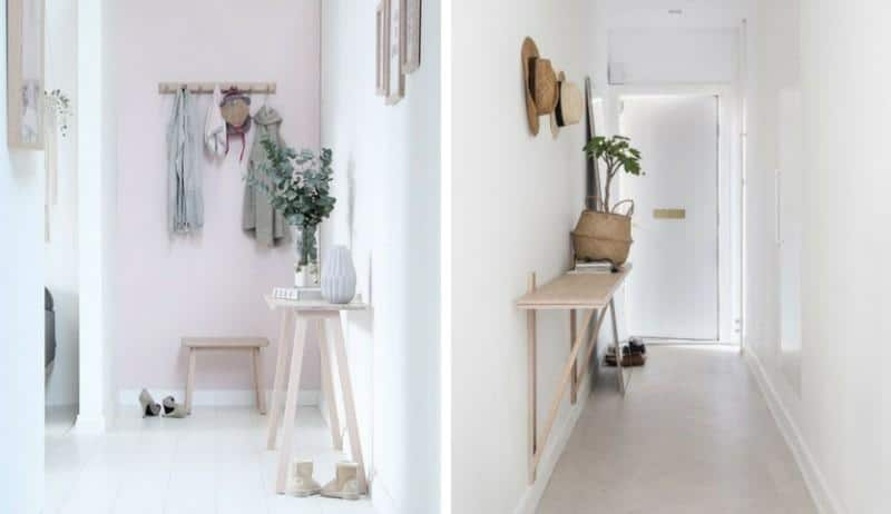 Küçük dekorasyon mobilyaları yerleştirin