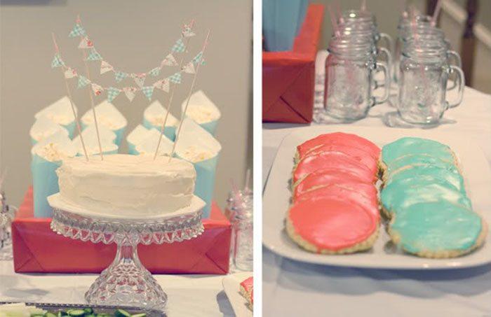 çocukların doğum günü pastasını dekore et
