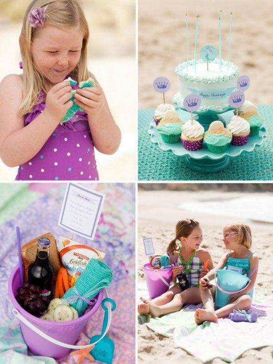 çocukların doğum günü kumsalını dekore et
