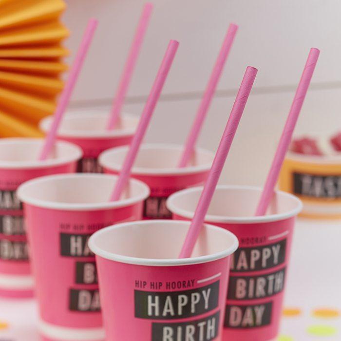 orijinal doğum günü partileri kağıt bardaklar