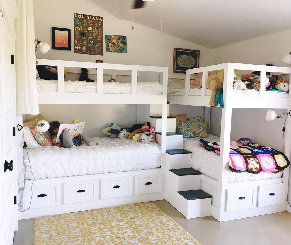 1615455345 951 Paylasilan cocuk yatak odalari nasil dekore edilir