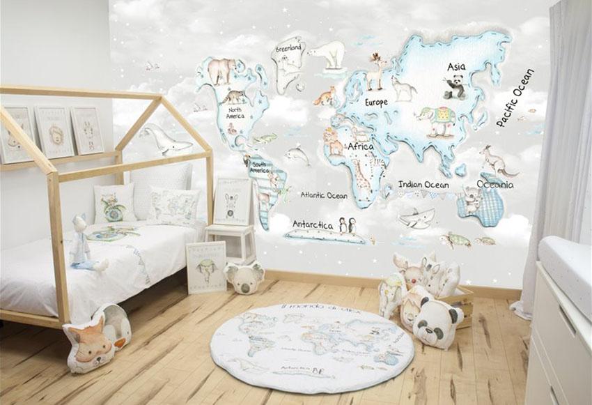 1615456421 44 Cocuk odasini dekore etmeyi ogreten duvarlari secin