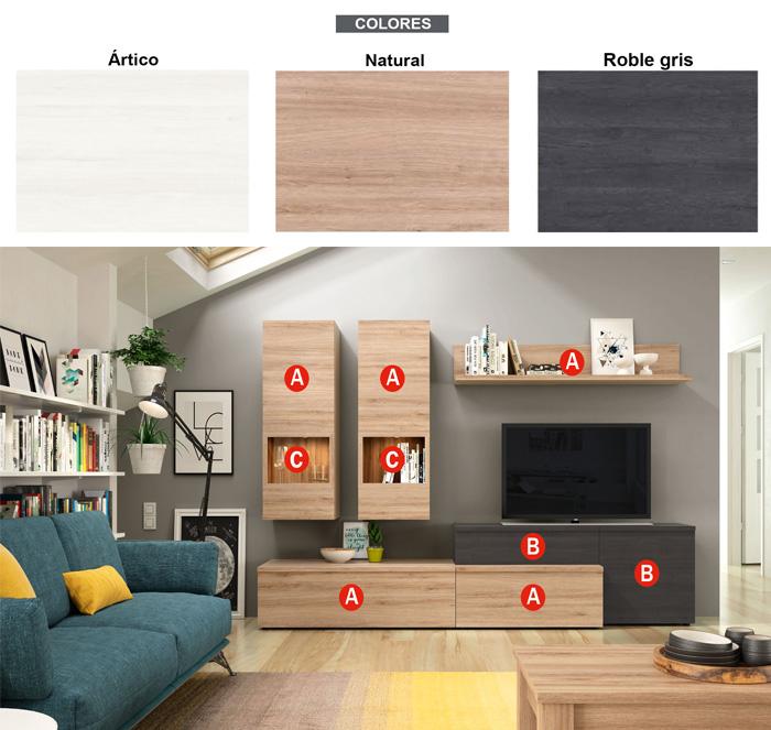Modern tasarım oturma odası tv dolabını özelleştirin