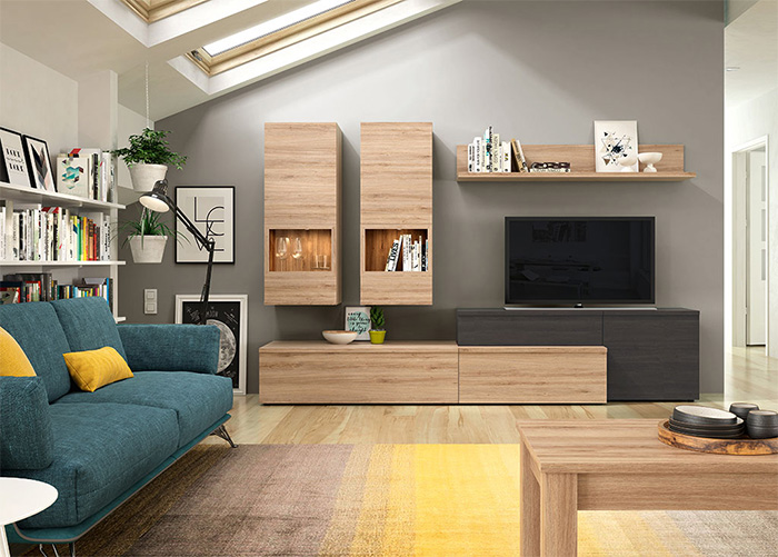 Modern tasarım oturma odası mobilyaları