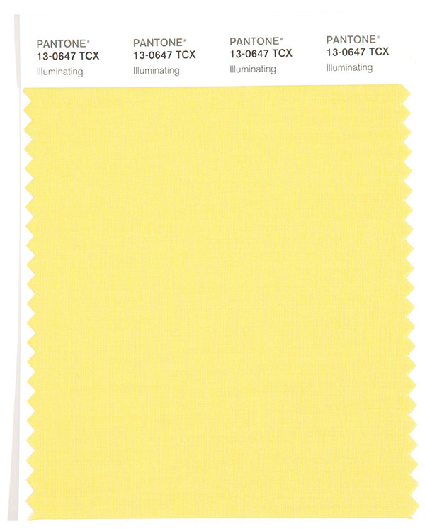 2021 Yılının Pantone Rengi Aydınlatıcı Sarı