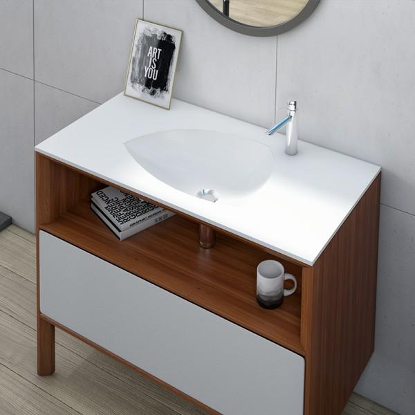 Modern tasarım ankastre lavabo ameliplus