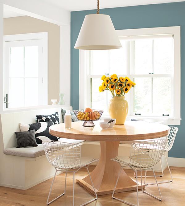 Renk Ege Deniz Mavisi - Benajamin Moore'dan 2021 yılının rengi, rahatlatıcı bir mavi-yeşil renk