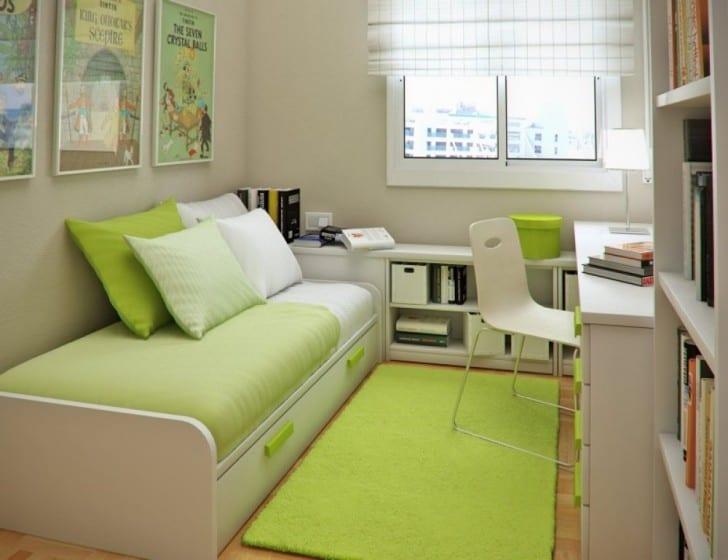Küçük yeşil oda