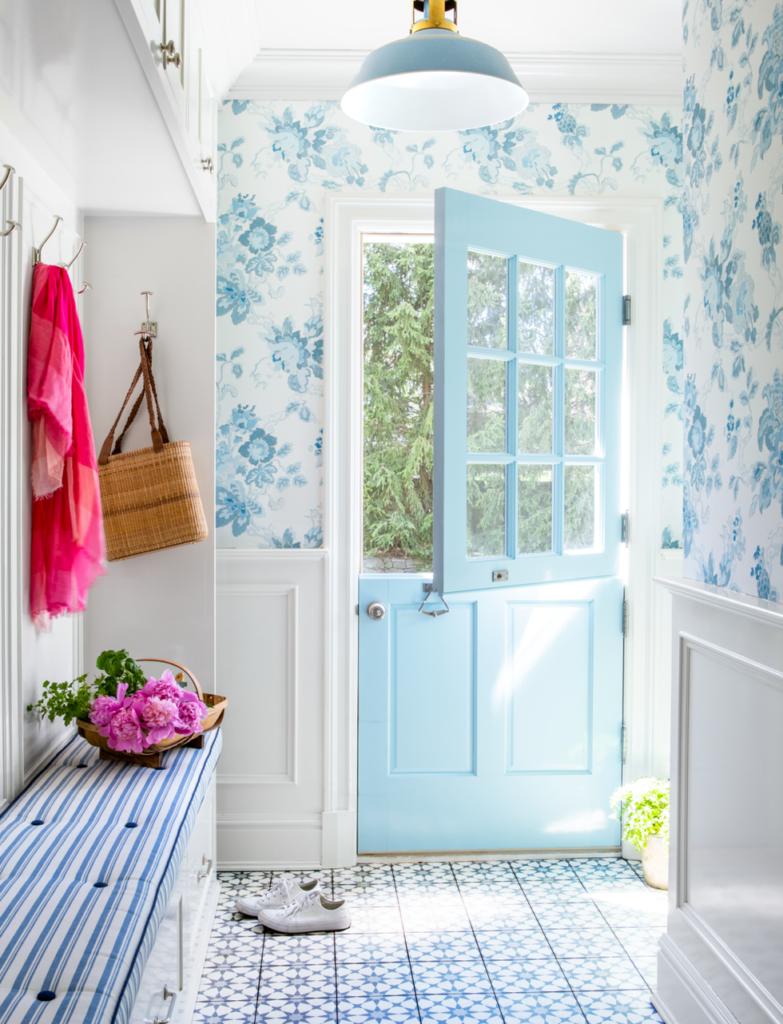 pastel renkler mavi duvar kağıtları çiçek girişi
