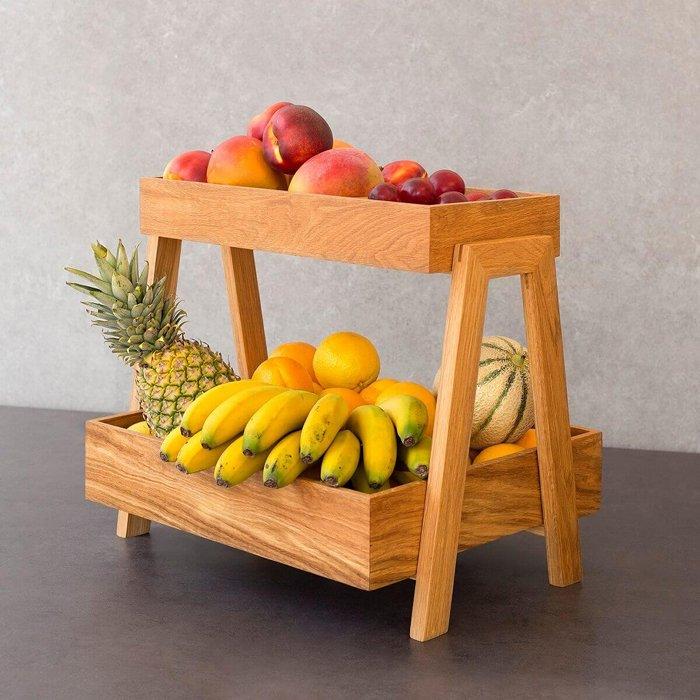 taze meyvelerle öğütülmüş meyve kasesi