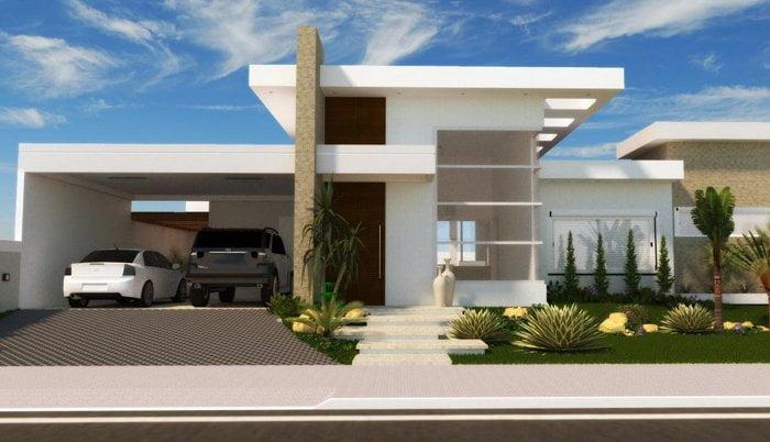 3d ev cephe tasarımı