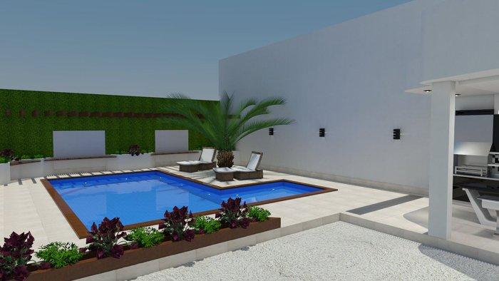 yüzme havuzu 3d tasarım
